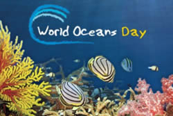 World Oceans Day  #BeatPlasticsPollution