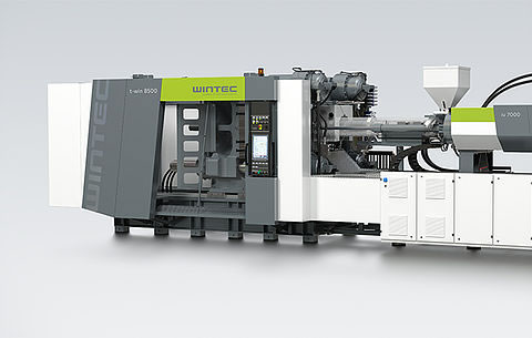 WINTEC t-win injection moulding machine
